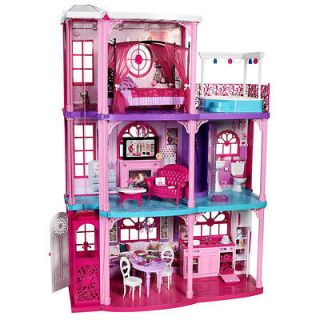 Barbie 2 story dream house with elevator fold up playhouse for 2 story elevator cost