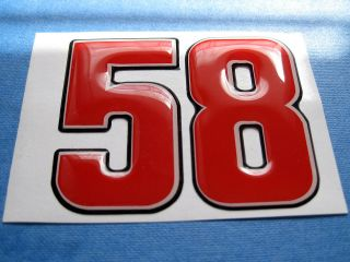 DOMED MARCO SIMONCELLI STICKER