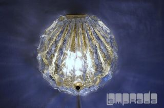 glass seashell lamp in Table Lamps