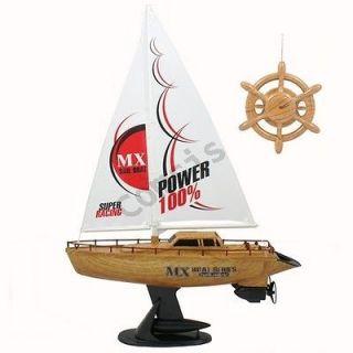 15 Dual Motors Remote Control RC Yacht Sailing Racing Boat Gift w