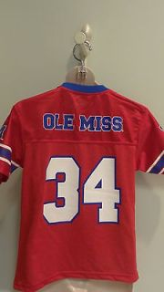 NWT NCAA Ole Miss Rebels Mesh Youth Team Jersey   Sizes 4  18