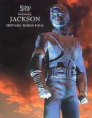 MICHAEL JACKSON History World Tour Programme MINT CONDITION rare