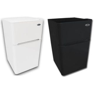 MicroLux 3.3 Cu Ft Compact 2 Door Refrigerator Freezer Fridge   ML880