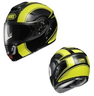 Shoei Neotec Borealis Modular Flip Up Motorcycle Helmet Yellow/Black