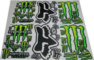 New Graphic Sticker Decal ATV Motocross Sports Racing 6 sheets Set# 6