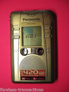 Panasonic Digital IC Recorder EVP Ghost Hunt EXTREMELY RARE Can Use