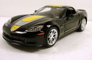 Chevrolet Corvette GT1 diecast model car 124 scale Brand New Black