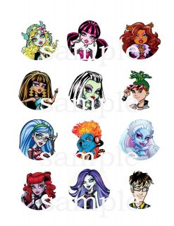 monster high cake decorations in Holidays, Cards & Party Supply