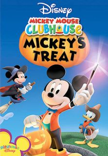 Disney MICKEY MOUSE CLUBHOUSE Mickeys Treat animated DVD