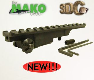GMG MAUSER K98 K 98 SCOUT RIFLE WEAVER SCOPE BASE MOUNT