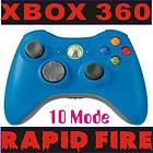 XBOX360 DUAL RAPID FIRE MODDED 10MODE controller FR BF3 GOW3 MW3 COD7