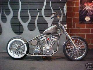 Custom Built Motorcycles : Bobber Bobber Rolling Chassis