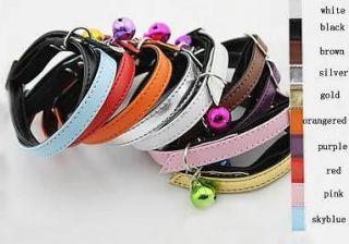 Pet collars Wholesale Pet Products Cat Collar small Dog Collar Bell 10