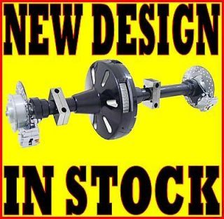 DNA TRIKE AXLE CONVERSION KIT 1 1/2 70 TOOTH PULLY BELT DRIVE HARLEY