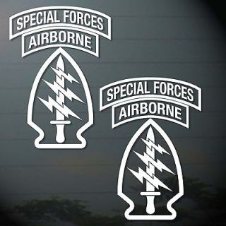 ARMY AIRBORNE SPECIAL FORCE STICKER CUT OUT COMPUTER CAR MOTOR BIKES