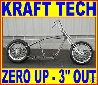 UP RIGID FRAME ROLLING CHASSIS HARLEY CHOPPER BOBBER CUSTOM