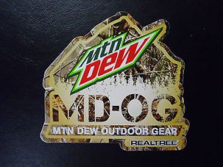 2012 Mountain Dew Outdoor Gear Camouflage Decal