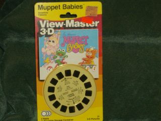 Vintage View Master 3D Reels Muppet Babies   NEW
