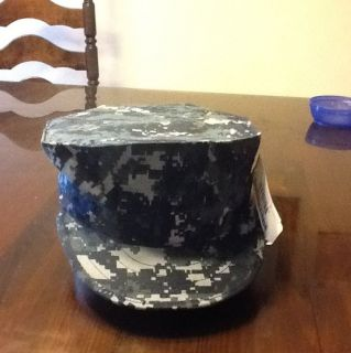 US NAVY SEAL SAILOR BDU NWU BLUE CAMO COMBAT CAP 8 POINT SIZE 6 3/8 to
