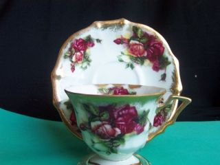 Vintage, Royal Sealy, Japan, Bone China, Cup and Saucer