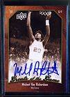 MICHAEL RAY RICHARDSON 2010 GREATS OF GAME AUTOGRAPH