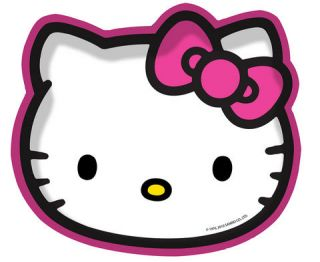 Hello Kitty Childrens Party Plates Cups Napkins Balloons