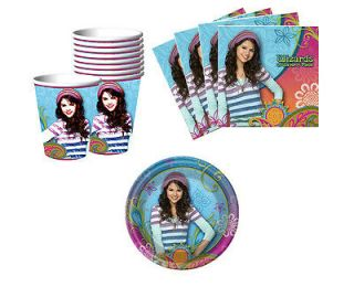 Waverly Place Birthday Party Supplies Plates Napkins Cups For 8 / 16