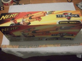 Nerf N Strike Barrel Break IX 2 Double Blaster BNIB
