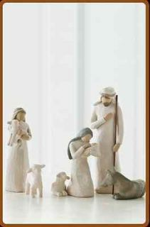 Willow Tree by Artist Susan Lordi Story of Christmas Nativity Set