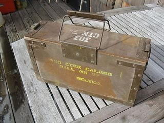 Wooden Ammo Box 303 Ball Mk8zBLTMk4, Goverment Explosives Nic​e