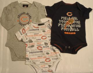 GENUINE STUFF or NFL TEAM APPAREL 0 3 3 6 6 9 Choice Chicago Bears