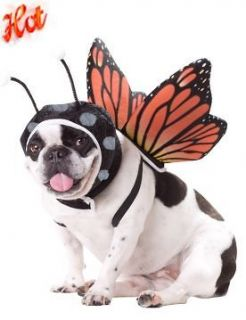 Pet Dog Funny ANIMAL PLANET Butterfly Insect Costume