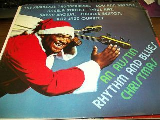 Rhythm And Blues Christmas LP The Fabulous Thunderbirds Lou Ann Barton