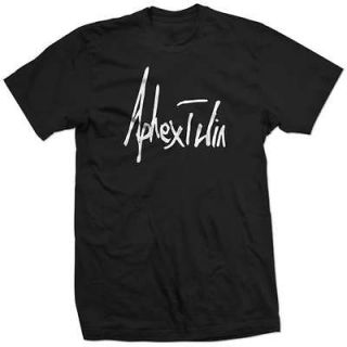APHEX TWIN SIGNATURE band Richard D James dj new SHIRT