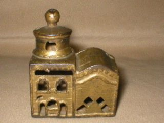 antique cast iron bank in Banks, Registers & Vending