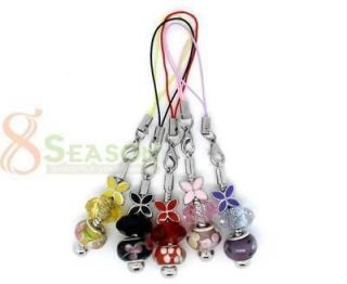 Mixed Handmade Cell Phone Lanyard Fit European Beads
