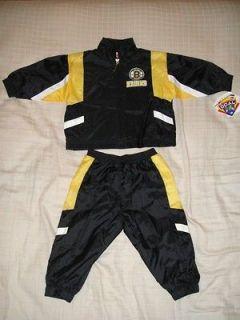 NWT Boston Bruins NHL Baby Infant Windsuit Jacket Pants Pick Size 12M