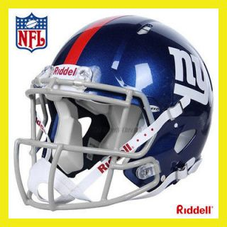 NEW YORK GIANTS ON FIELD AUTHENTIC REVOLUTION SPEED FOOTBALL HELMET