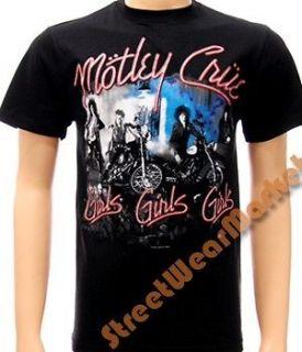 Motley crue Tommy Lee amercian music men T shirt Sz XL