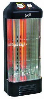 Heater Comfort Zone Quartz Vertical Room Electric Heating Home