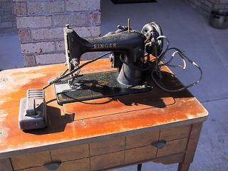 Old Singer Sewing Machine & Table   Pick Up Only in Lake City Forida