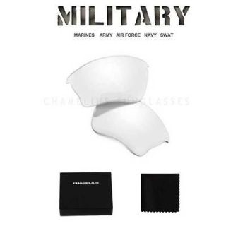 Clear Tactical Safety XLJ Replacement Lenses / Oakley Half Jacket