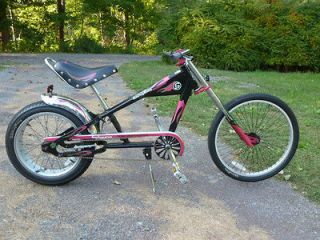 SCHWINN ORANGE COUNTY CHOPPER OCC STINGRAY BICYCLE BIKE Black & Pink