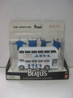 The Beatles HELP Album Cover Diecast Bus Corgi 2008