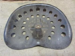 Metal Tractor Seat Old Antique Farm Equipment Tools Iron 7354