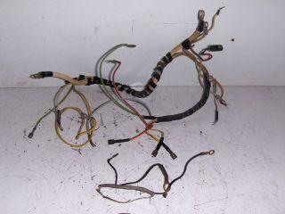 GILSON / MONTGOMERY WARD S 14 LAWN & GARDEN TRACTOR WIRING HARNESS