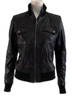 Aviatrix Ladies Bomber Genuine Leather Jacket # 1718