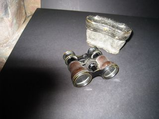ANTIQUE BINOCULARS/ OPERA GLASSES LEMAIRE FABt PARIS