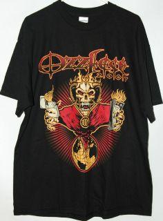 OzzFest 2007 black T Shirt tee Ozz Fest 07 Ozzy Osbourne