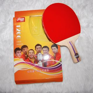 New Brand  One Table Tennis Paddle Racket Bat with Case Cover Bag with